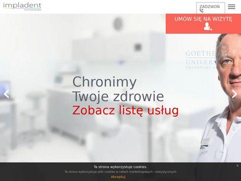 Impladent tomografia komputerowa zębów