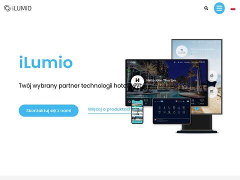 Ilumioapp.pl - interaktywny system obsługi gościa