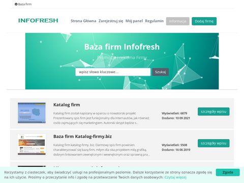 Infofresh.pl indeks firm