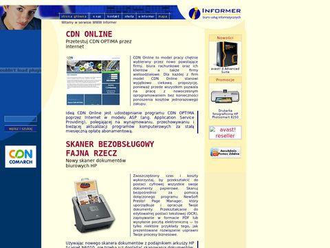 BUI Informer Kraków - usługi programistyczne i serwisowe