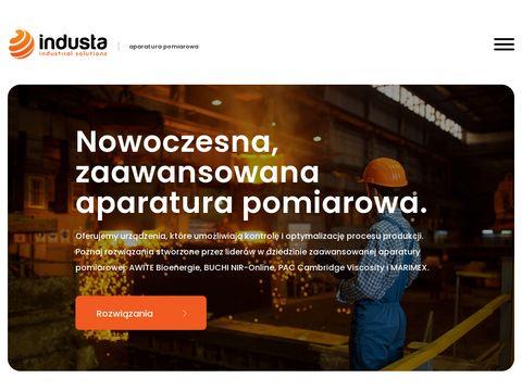 Industa.pl kontrola procesów produkcji