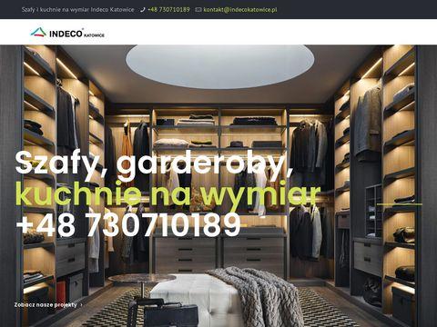Indecokatowice.pl szafy wnękowe