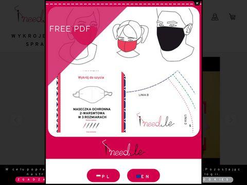 Ineedle.pl wykroje sukienek