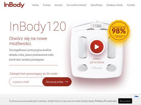 Inbody120.pl profesjonalna analizaskładu ciała