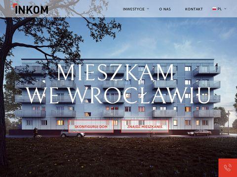 Inkom S.A. nowe mieszkania na sprzedaż Wrocław