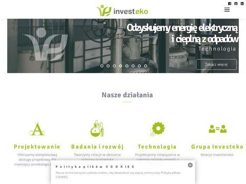 Investeko raport oddziaływania na środowisko