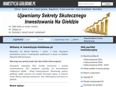 Inwestycje-gieldowe.pl