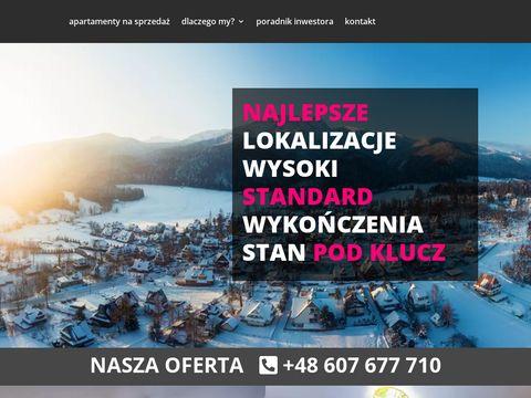 Inwestujwzakopanem.pl pomyśl o apartamentach