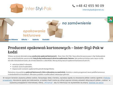 Inter-Styl s.c. zakład produkcji opakowań