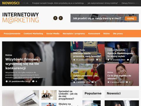 Internetowymarketing.pl reklama strony internetowej