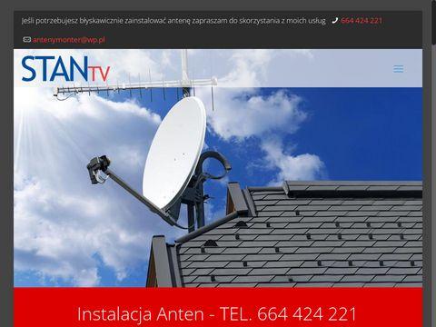 Montaż anten Lublin Stan TV - instalacje-anten.pl
