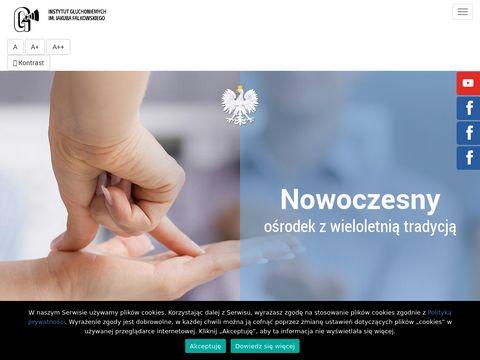 Instytut-gluchoniemych.waw.pl aparaty słuchowe
