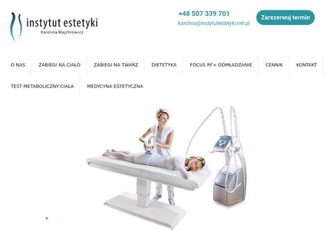 InstytutEstetyki.net.pl modelowanie ciała Gdańsk