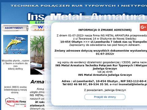 Ins Metal rury stalowe