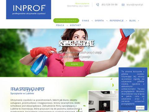 Inprof.pl sprzątanie Lublin