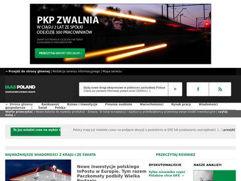 Iaaspoland.pl portal finansowy