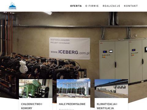 Iceberg - hale stalowe