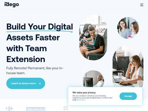 Idego-group.com technologia blockchain