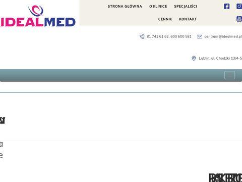 Idealmed.com.pl salon kosmetyczny w Lublinie