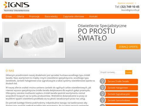 Ignis - oświetlenie led