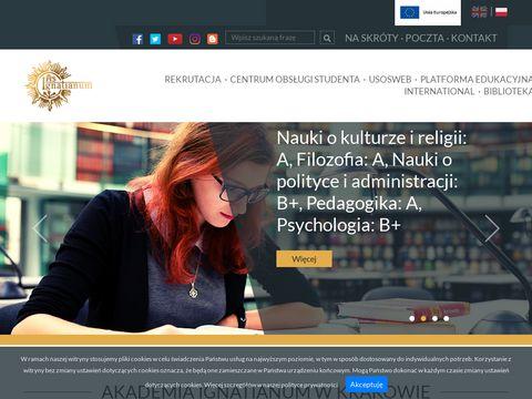 Ignatianum pedagogika Kraków