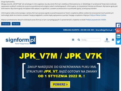 Iform.pl jednolity plik kontrolny