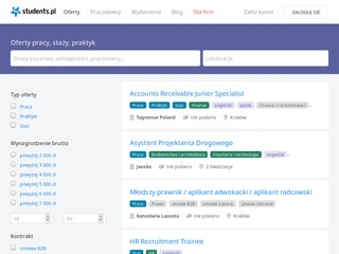 Isivi.pl - praca dla studenta