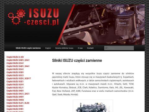 Isuzu-czesci.pl - silnikowe Isuzu