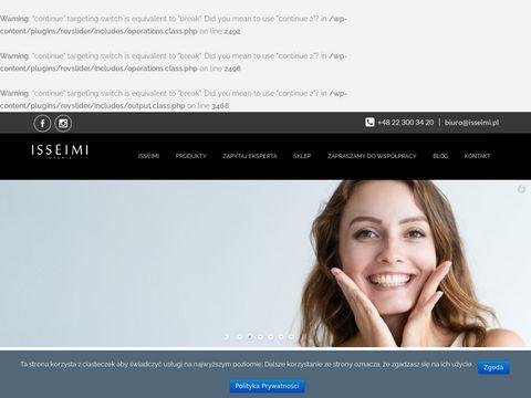 Isseimi.pl dystrybucja kosmetyków