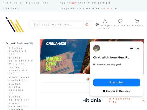 Iron-men.pl sklep odżywki na masę, kreatyna