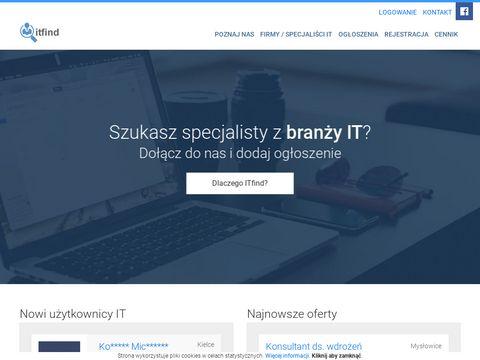 Itfind.pl - praca i staże