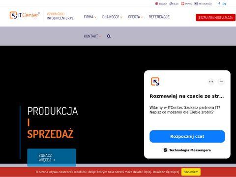 Itcenter.pl - usługi informatyczne