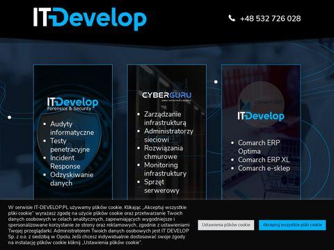 It-develop.pl firma informatyczna Opole