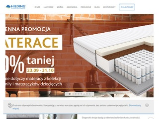 Hilding.pl producent materacy