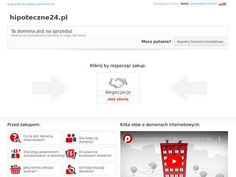 Hipoteczne24.pl - pożyczka hipoteczna bez bik