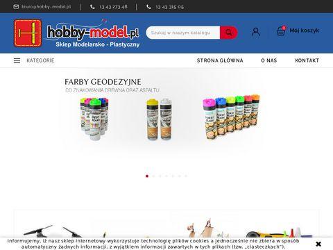 Hobby-model.pl sklep plastyczno - modelarski