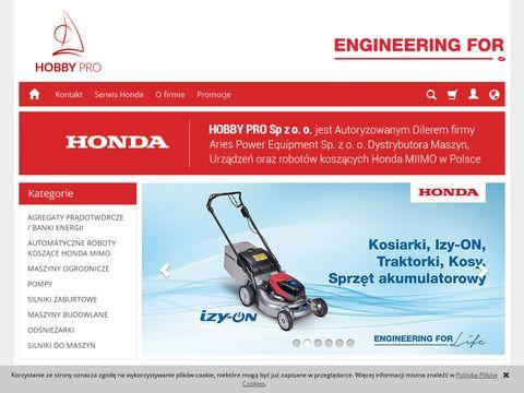 Hondawroclaw.pl - kosiarki, agregaty, pompy