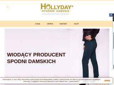 Hollyday.pl producent spodni damskich