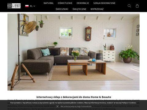 Homebeaute.com.pl wyposażenie wnętrz