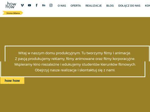 Howhow.pl realizujemy filmy reklamowe