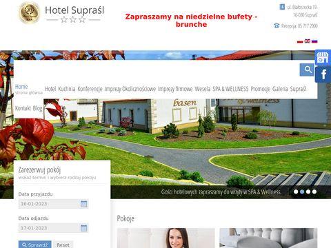 Hotelsuprasl.com sala konferencyjna