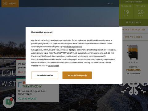 Hotelpiwniczna.pl - pakiety spa