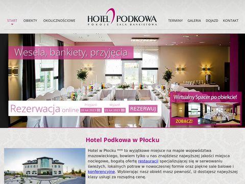 Hotelpodkowa.eu - restauracja Płock