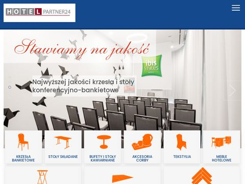 Hotelpartner24.pl - krzesła bankietowe
