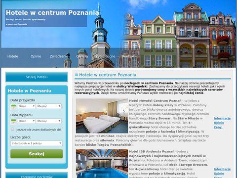 Hotele Poznań Centrum
