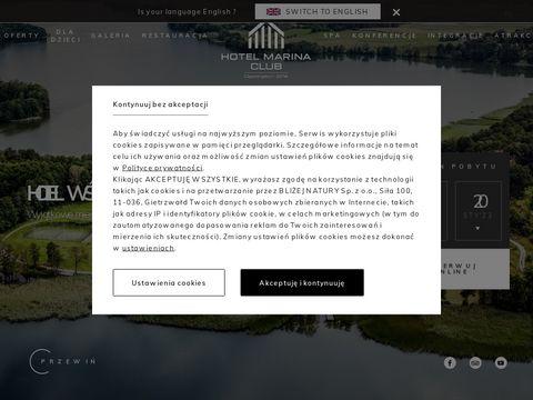 Hotelmarinaclub.pl - spa na Mazurach i Warmii
