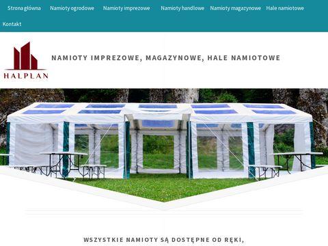Halplan.pl namioty ślubne weselne ogrodowe