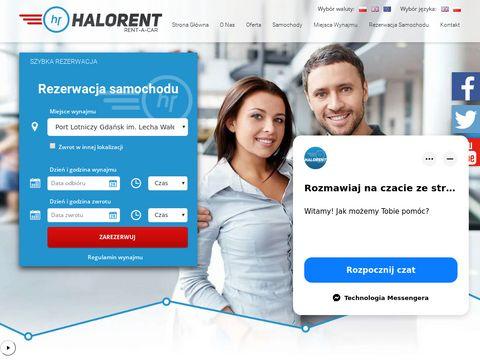 HaloRent - wypożyczalnia samochodów w Gdańsku