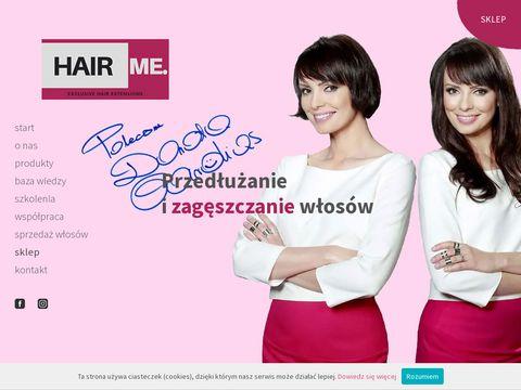 Hairme.pl akcesoria do przedłużania włosów