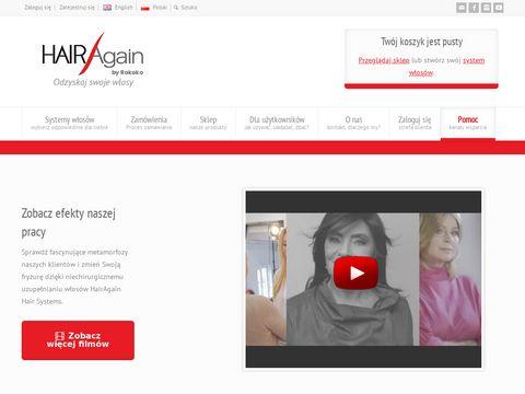 Hairagain.com.pl system włosów